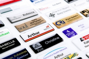 Peppers, BHP, SOUL, RFDS Name Badges