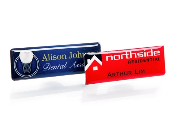 Image for Professional resin name badges