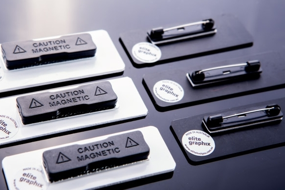 Image for Choice of name badge backings