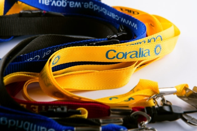 Image for Matching corporate lanyards