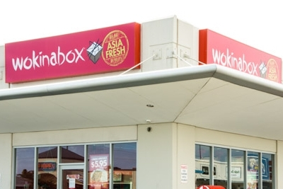 Image for Illuminated Wokinabox Signage