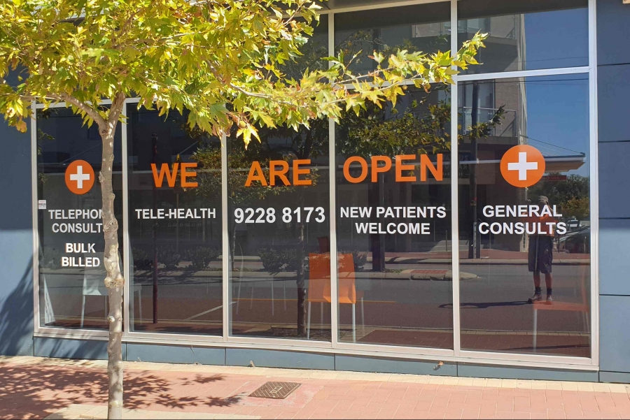 Image for We Are Open Door & Window Signage
