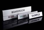 Professional door & desk plaques options for your department. Image 5