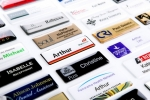 The options are endless with our professional resin finished or laser engraved name badges. Image 1