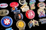 We manufacture to your specification professional lapel pins in full digital colour. Image 2