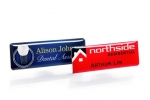 Professional resin coated name badges. Image 2